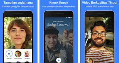 Download aplikasi Duo Untuk vidio call dari Google