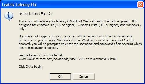 Leatrix latency fix safe