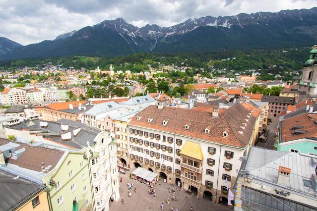 Vista dalla Sadtturn-Innsbruck