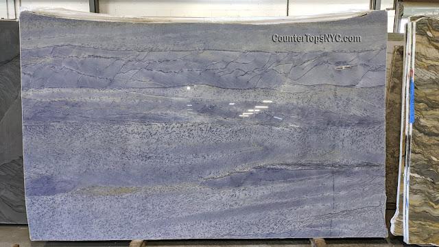 Azul Macaubas Blue Natural Stone Quartzite Slab NYC