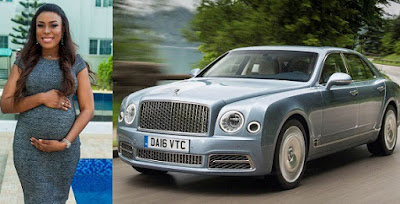 """""""I already ordered a Bentley Mulsanne for my son and I"""" – An elated Linda Ikeji says in her pregnancy story"""