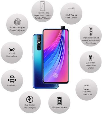 Vivo V15 Pro best budget mobile under 20 k