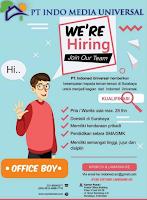 Lowongan Kerja di PT. Indo Media Universal Surabaya Maret 2020