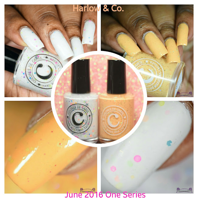 Harlow &  Co. June One Series: Colores De Carol Pawsome Duo