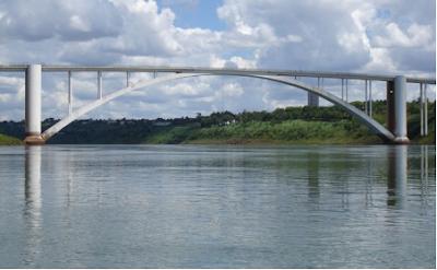 Resultado de imagen para puente de la amistad ciudad del este