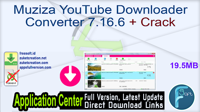 Muziza YouTube Downloader Converter 7.16.6 + Crack