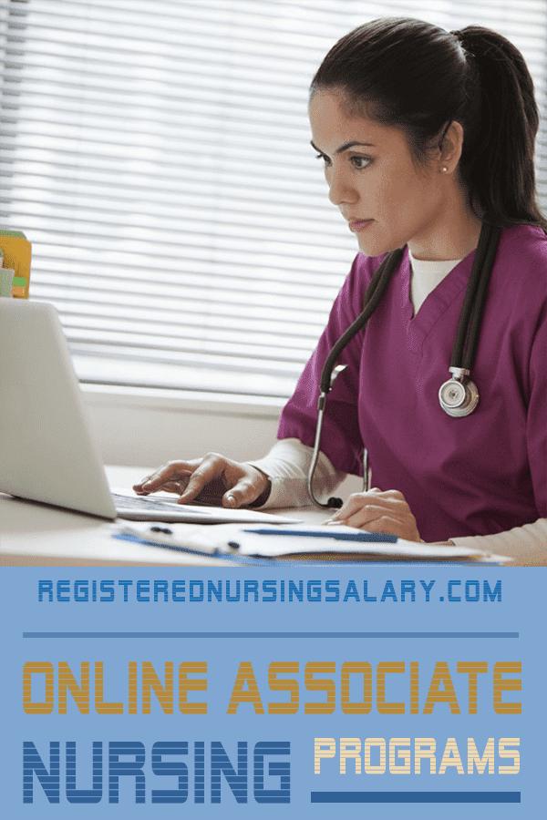 Online Nursing Programs >> Online Associate Nursing Program Registerednursingsalary Com