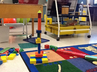 Blocks at math centers teach magically
