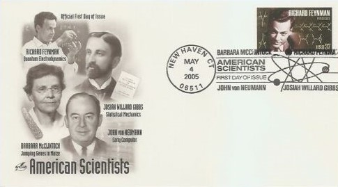 USA Richard Feynman FDC