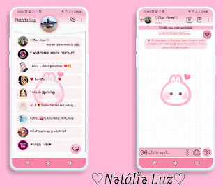 Cutte 2 Theme For YOWhatsApp & Fouad WhatsApp By Natalia Luz