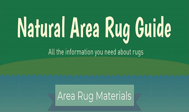 Rug Guide for Natural Areas: All the information you need Aboud Rugs #infographic