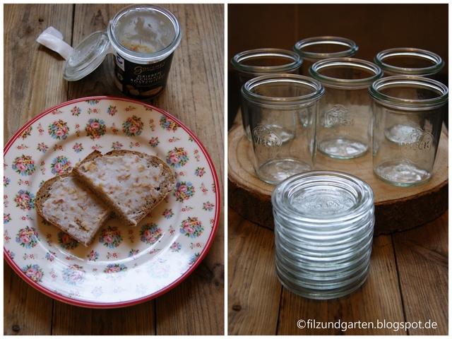 Tischdeko mit Mini-Weckgläsern