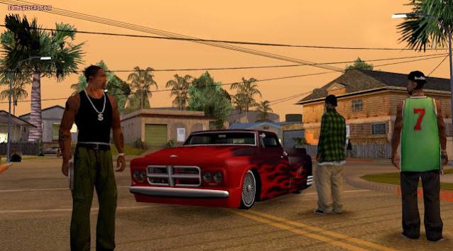 تحميل لعبة GTA San Andreas للكمبيوتر برابط واحد من ميديا فاير