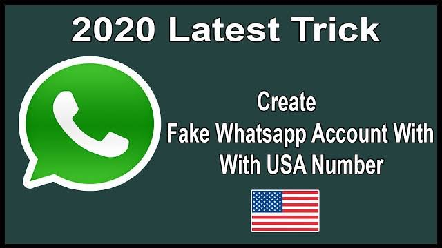 Latest method on How to create a WhatsApp account with U.S.A number for free