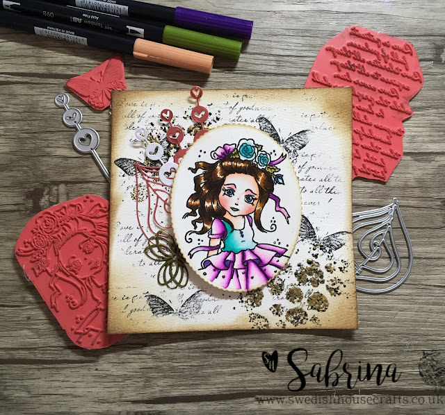 TUTORIAL Gummiapan Stamp - L. Fairytale | By Sabrina