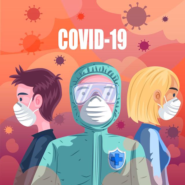 ciri terpapar corona virus