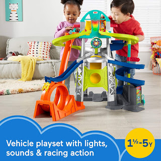 Fisher-Price Little People Launch and Loop Raceway toy set, toy set, toys gift ideas