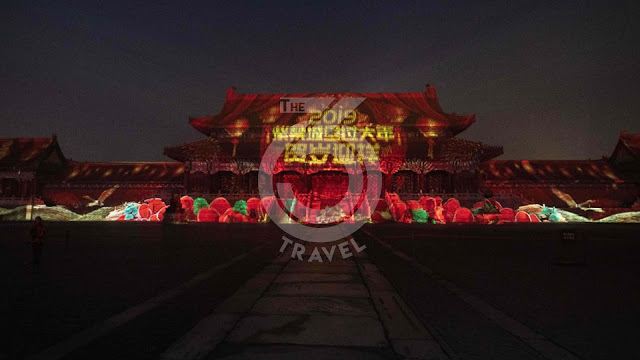 China: The Forbidden City of Beijing illuminated for its 600 years