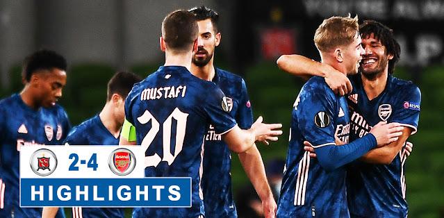 Dundalk vs Arsenal – Highlights