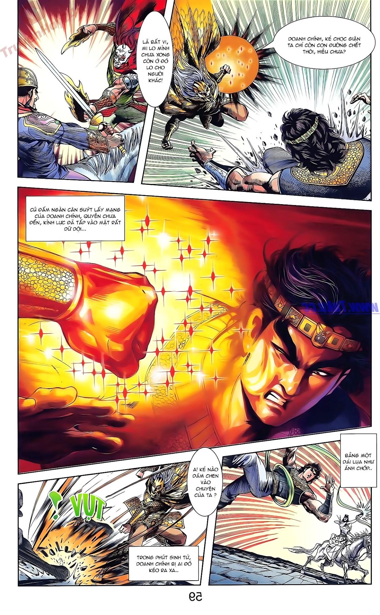 Tần Vương Doanh Chính chapter 49 trang 13