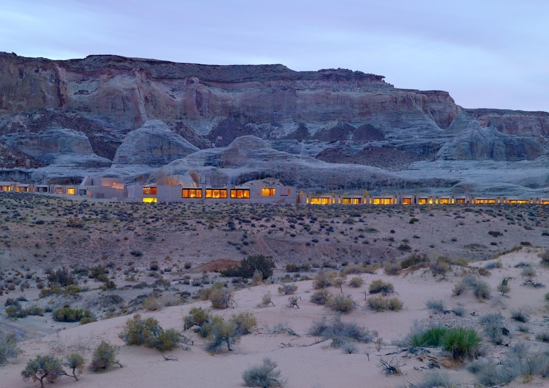 Amangiri, Canyon Point, Utah - 15 Incredible Hotel Rooms Where You Can Sleep Under The Stars.