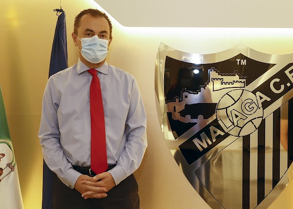 Málaga, el Administrador Judicial estuvo presente en el partido del Juvenil