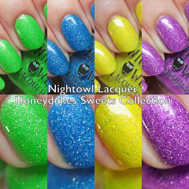 Night Owl Lacquer Honeydukes Sweets Collection