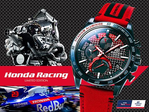"""คาสิโอร่วมกับ """"Honda Racing""""ออกลิมิเต็ดอิดิชั่น 2019 ตระกูล EDIFICE"""