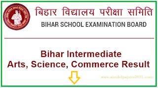 Bihar Board 12th Result 2021