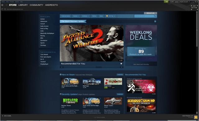 تحميل برنامج Steam ستيم 2020 كامل لتشغيل الألعاب