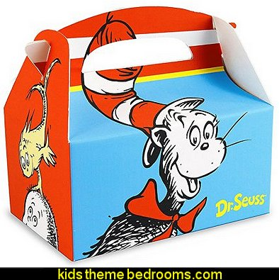Dr Seuss Party Supplies - Empty Favor Boxes