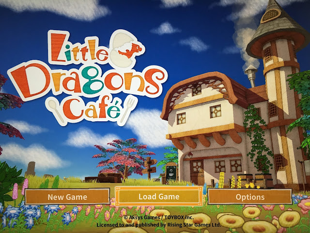 nintendo little dragons cafe title screen