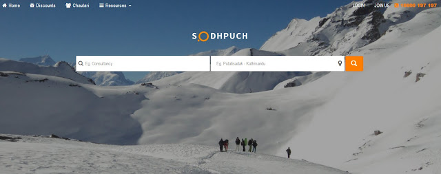 Sodhpuch.Com - Diversified Local Search in Nepal