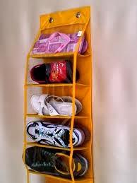 rak gantung plastik sepatu dan tas lengkap dg Resleting