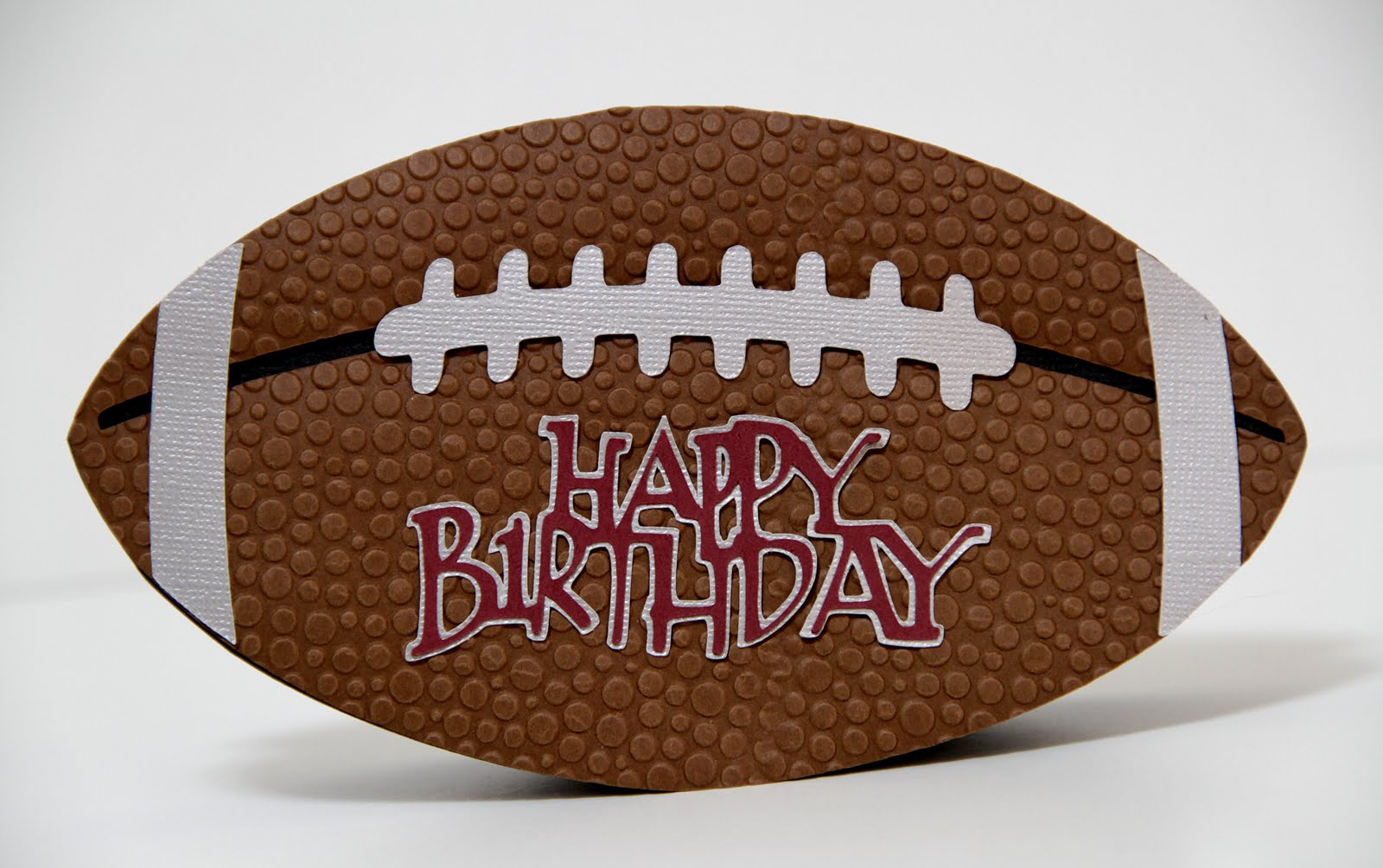 happy birthday football The Paper Boutique: Happy Birthday Bill! happy birthday football