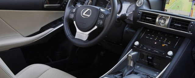 2018 Lexus IS Redesign. Interior Concept