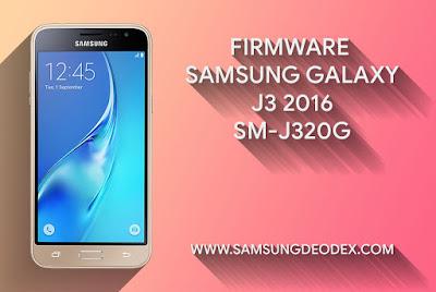 Samsung Firmware J320G DS J3 2016
