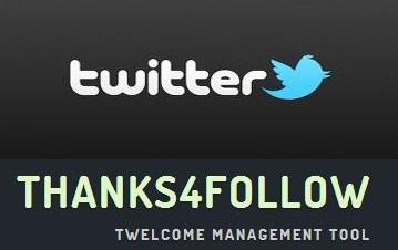 twitter thanks4follow