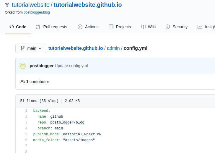 konfigurasi blog dengan netlify
