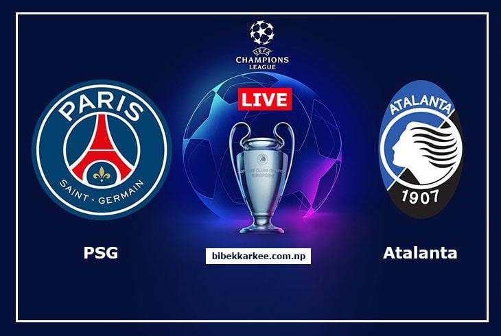 PSG vs Atalanta | Champions League 2020| Watch Live Online