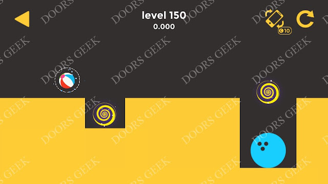 Ball & Ball Level 150 Solution, Walkthrough, Cheats for android and ios