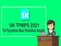 SK Tim Pengembang Mutu Pendidikan Sekolah (TPMPS) 2021