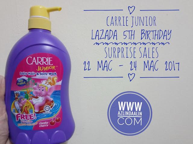 6 JENAMA BARANGAN PATUT BELI SEMPENA LAZADA 5th SURPRISE BIRTHDAY SALES