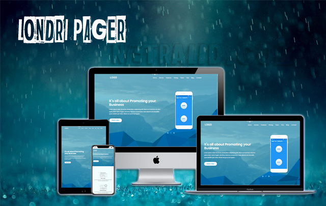 Londri Pager  Responsive Blogger Template
