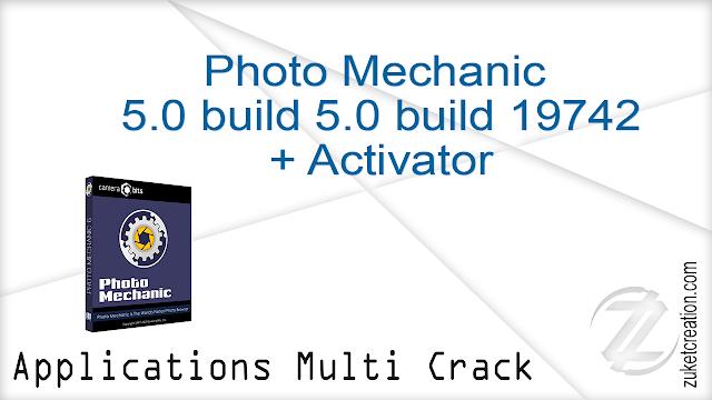 Photo Mechanic 5.0 build 5.0 build 19742 + Activator   |  59 MB