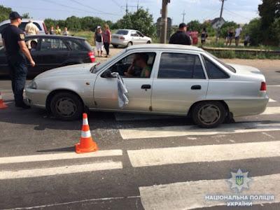 На Одещині чоловік скерував автомобіль на учасників мирної акції