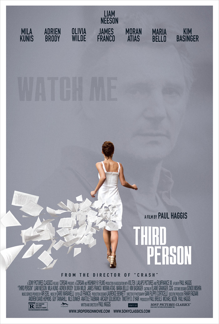 Sinopsis Film Third Person (James Franco, Mila Kunis, Olivia Wilde, Liam Neeson)