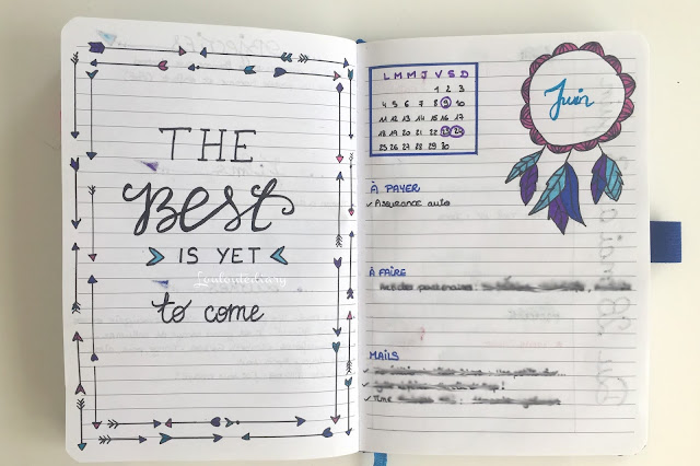 citation de mon bullet journal