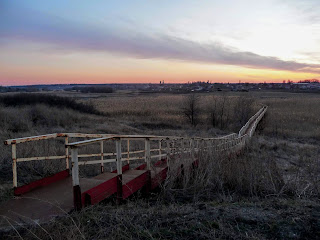 Александро-Калиново. Мост через реку Бычок
