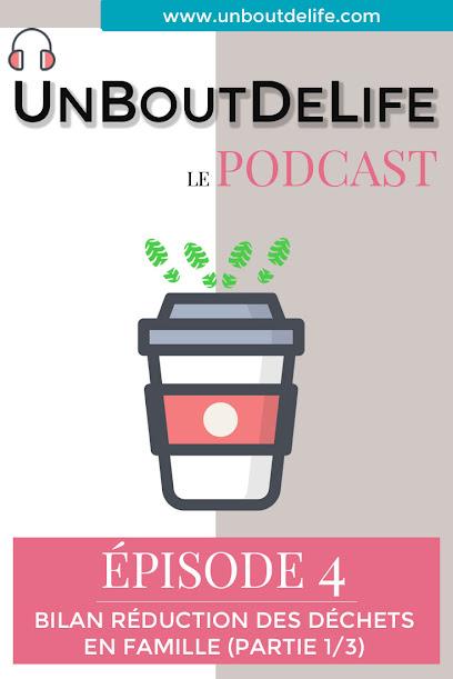 #4 Podcast - Bilan réduction des déchets en famille (1/3)